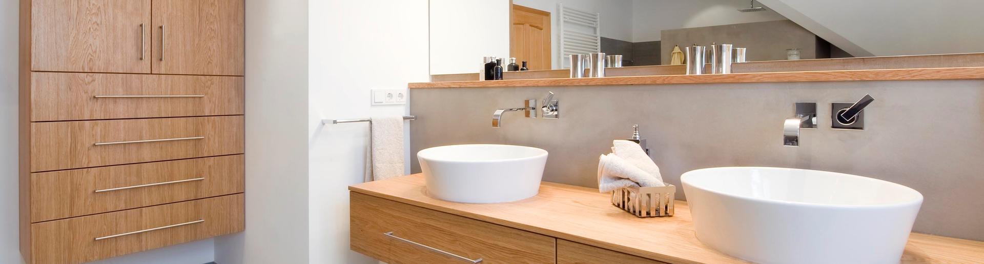Holz im Badezimmer | Senger | Osnabrück | Gebäudetechnik
